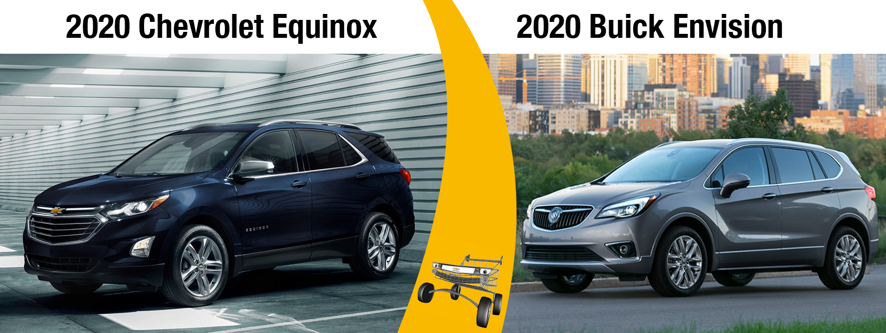 2020 Chevy Equinox vs 2020 Buick Envision