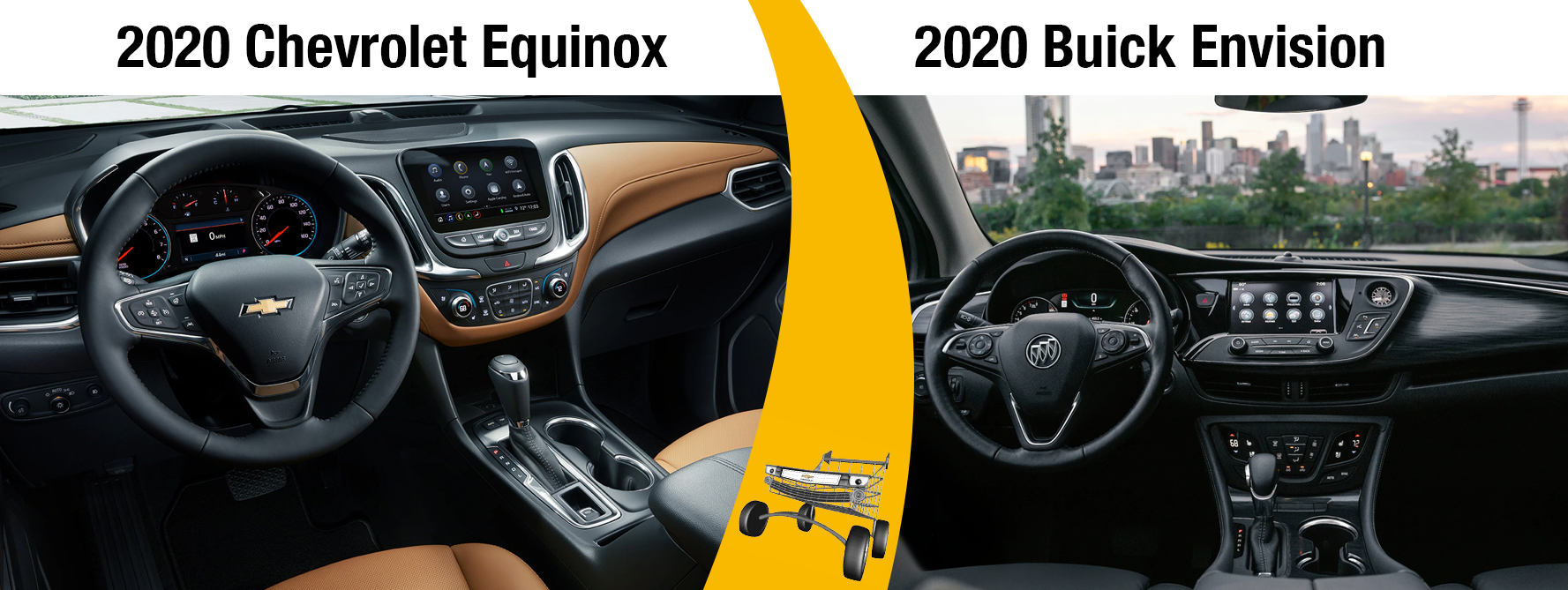 2020 Chevy Equinox vs 2020 Buick Envision Safety Features