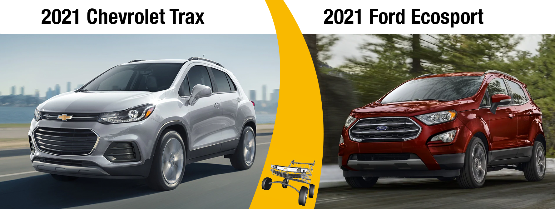 2021 Chevy Trax vs 2021 Ford EcoSport