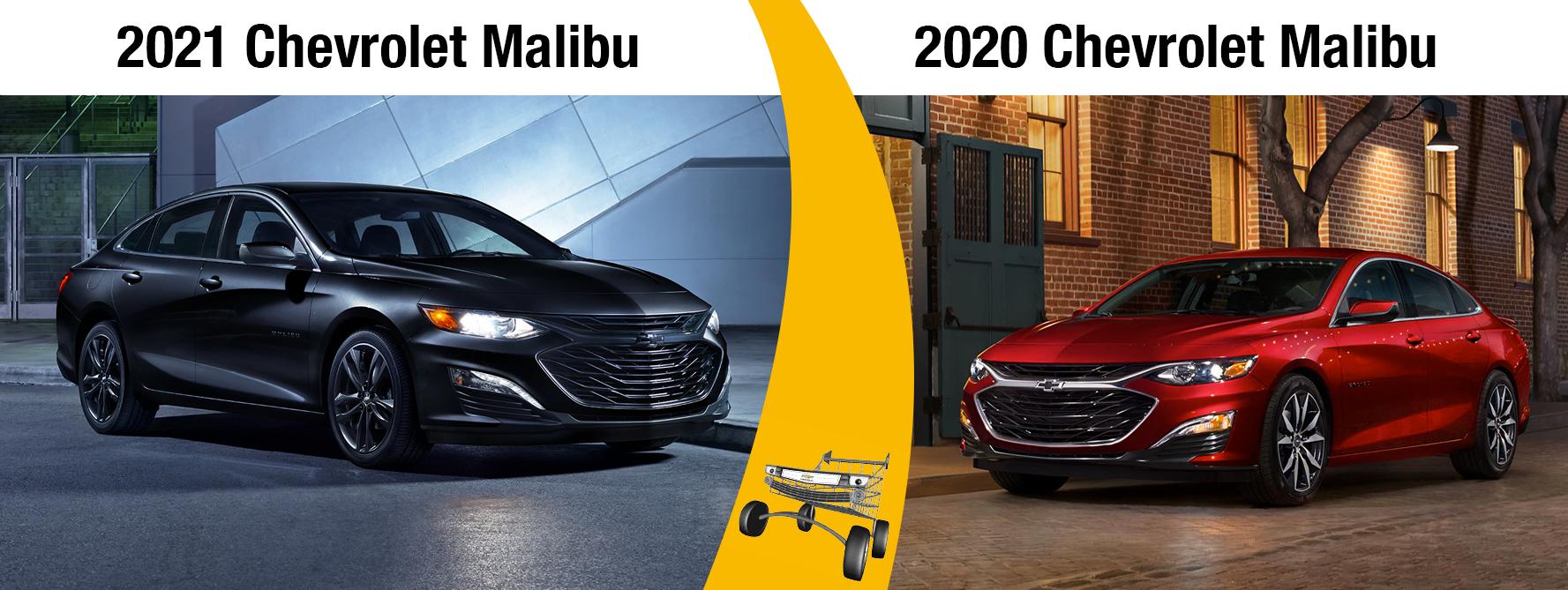 2021 Malibu vs 2020 Malibu
