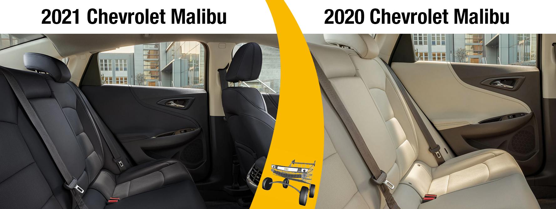 2020 Malibu vs 2021 Malibu Exterior