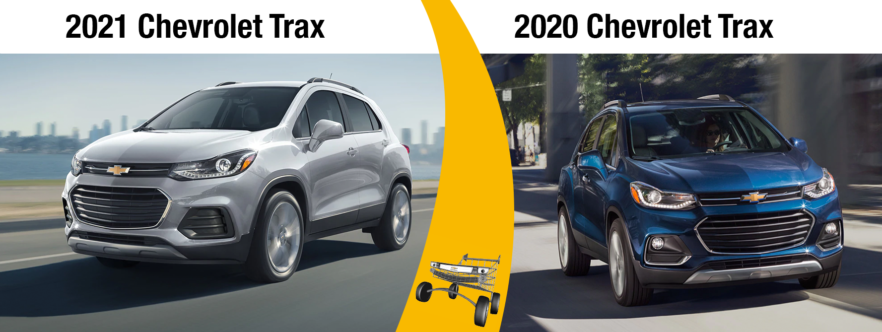 2021 Chevy Trax vs 2020 Chevy Trax