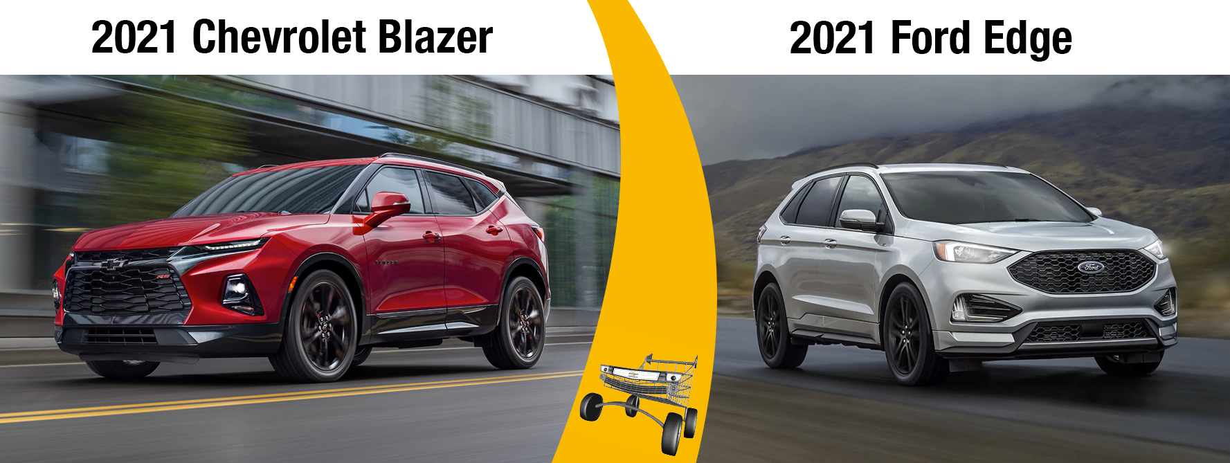 2021 Chevy Blazer vs 2021 Ford Edge