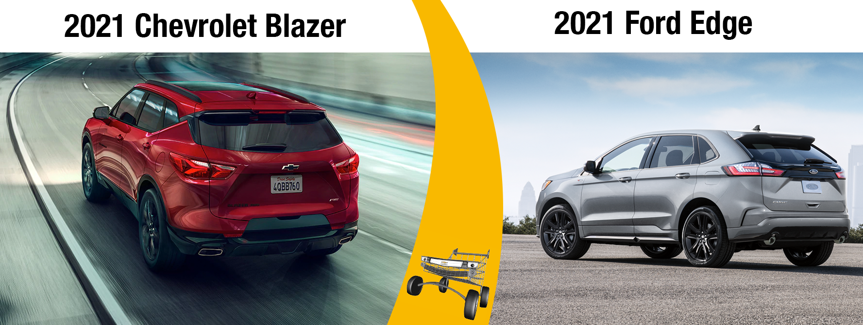 Which 2021 SUV to Buy? The 2021 Chevy Blazer vs 2021 Ford Edge