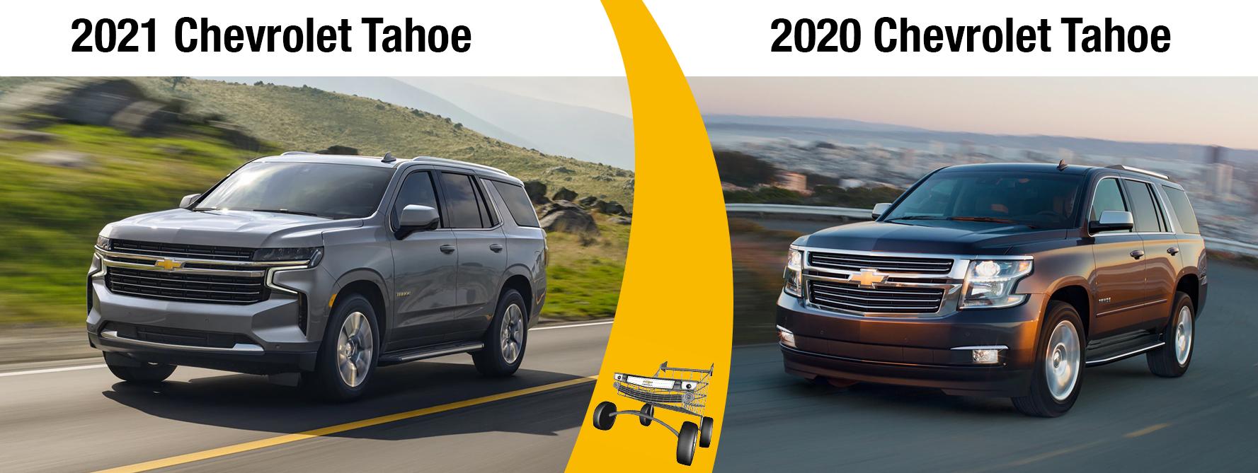2021 Chevy Tahoe vs 2020 Tahoe