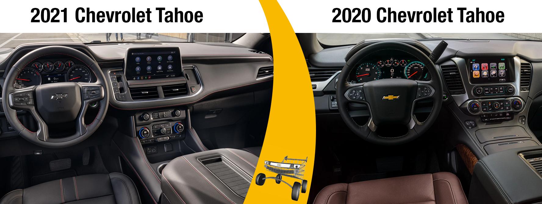 2021 Tahoe vs 2020 Tahoe Performance