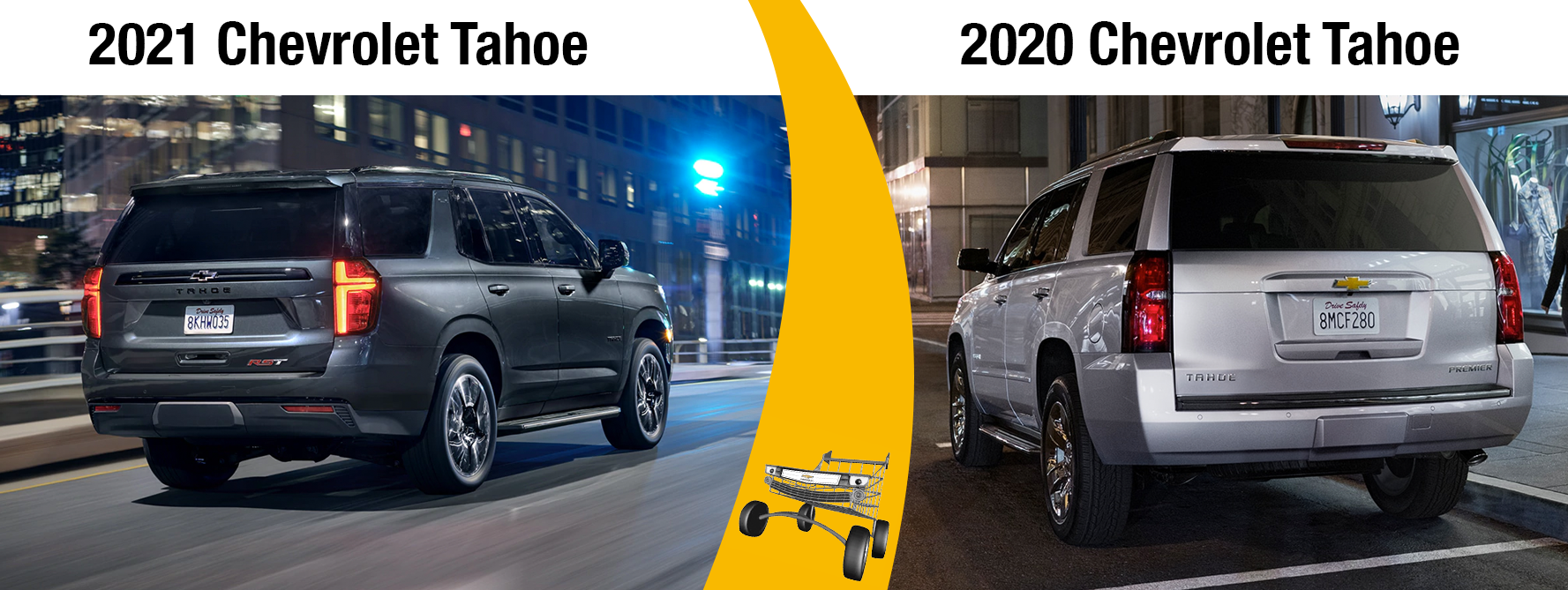 2021 Tahoe Exterior and Size