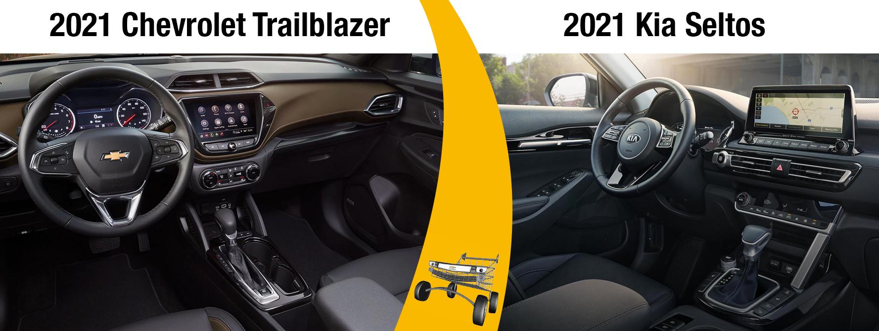 2021 Trailblazer vs 2021 Seltos Safety Technology
