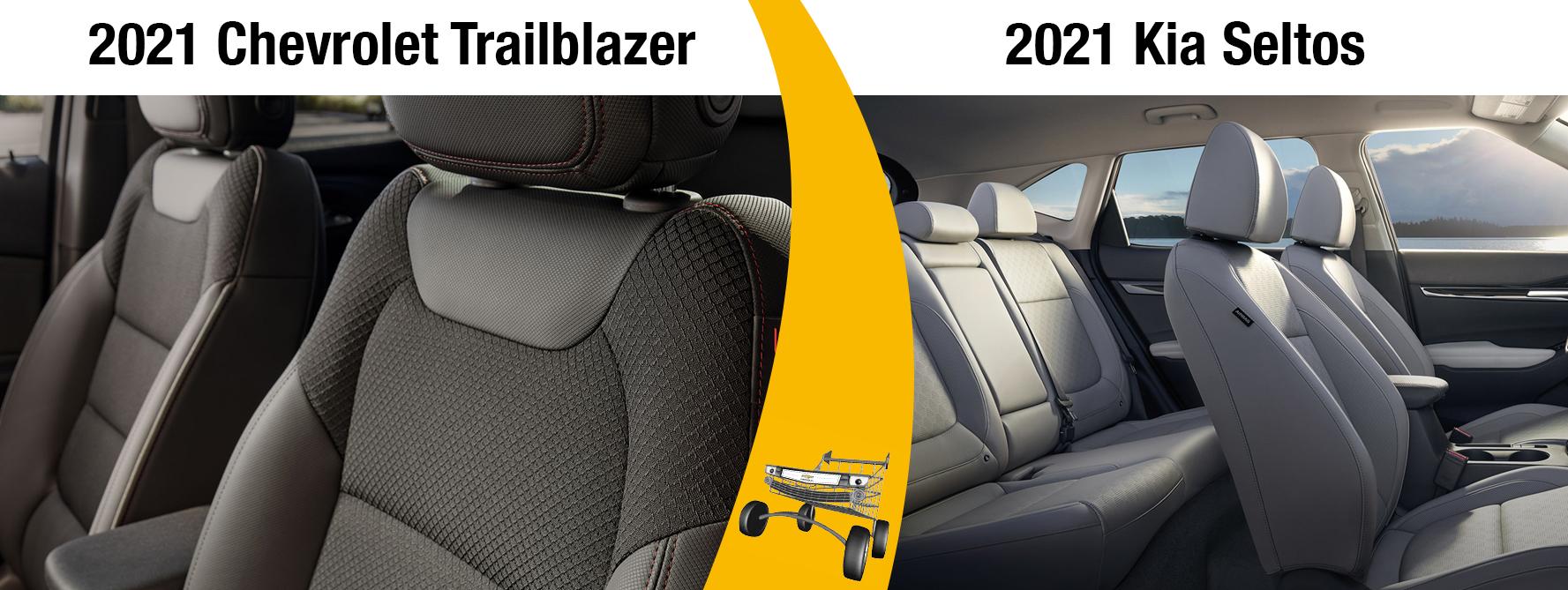 2021 Chevrolet Trailblazer vs 2021 Kia Seltos Features