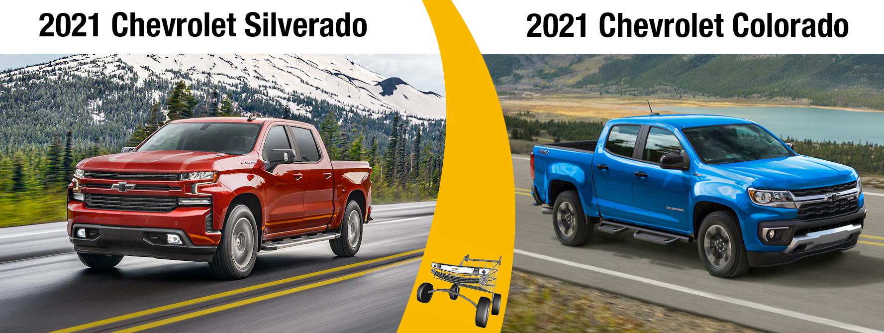 2021 Chevy Silverado vs 2021 Colorado Which To Buy