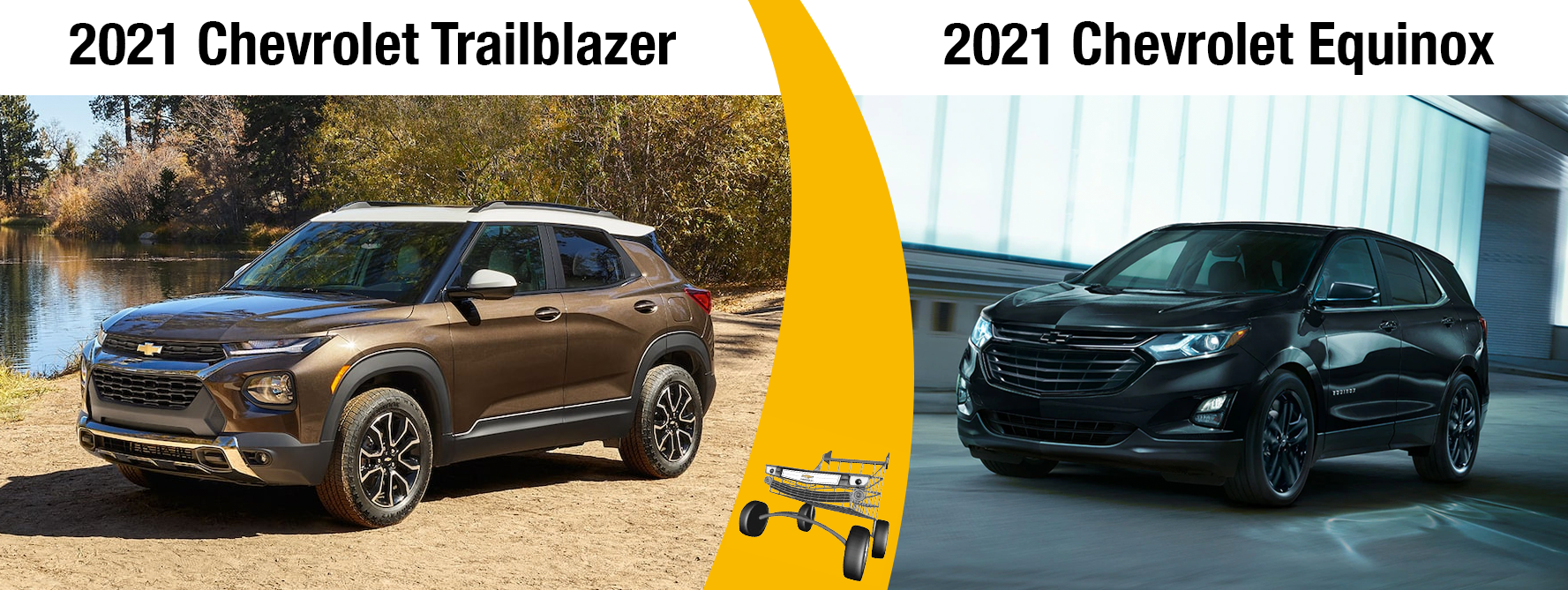 2021 Chevy Trailblazer vs 2021 Chevy Equinox Chicago IL