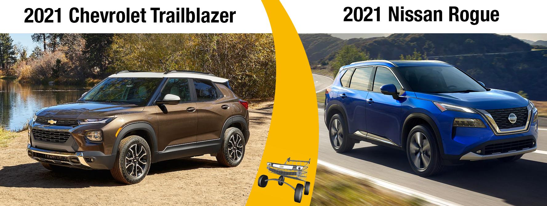 2021 Chevy Trailblazer vs 2021 Nissan Rogue