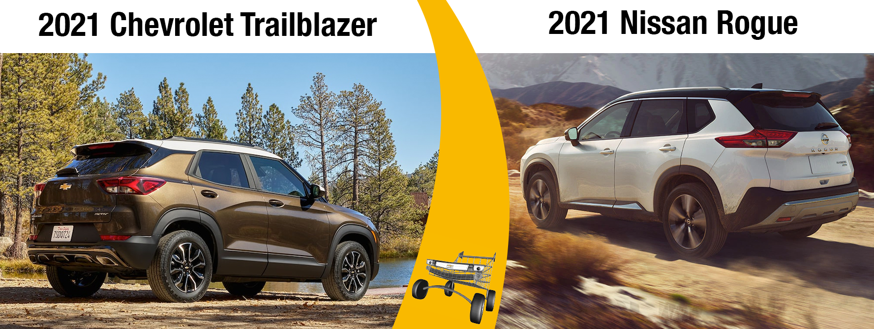 2021 Chevy Trailblazer vs 2021 Nissan Rogue Chicago