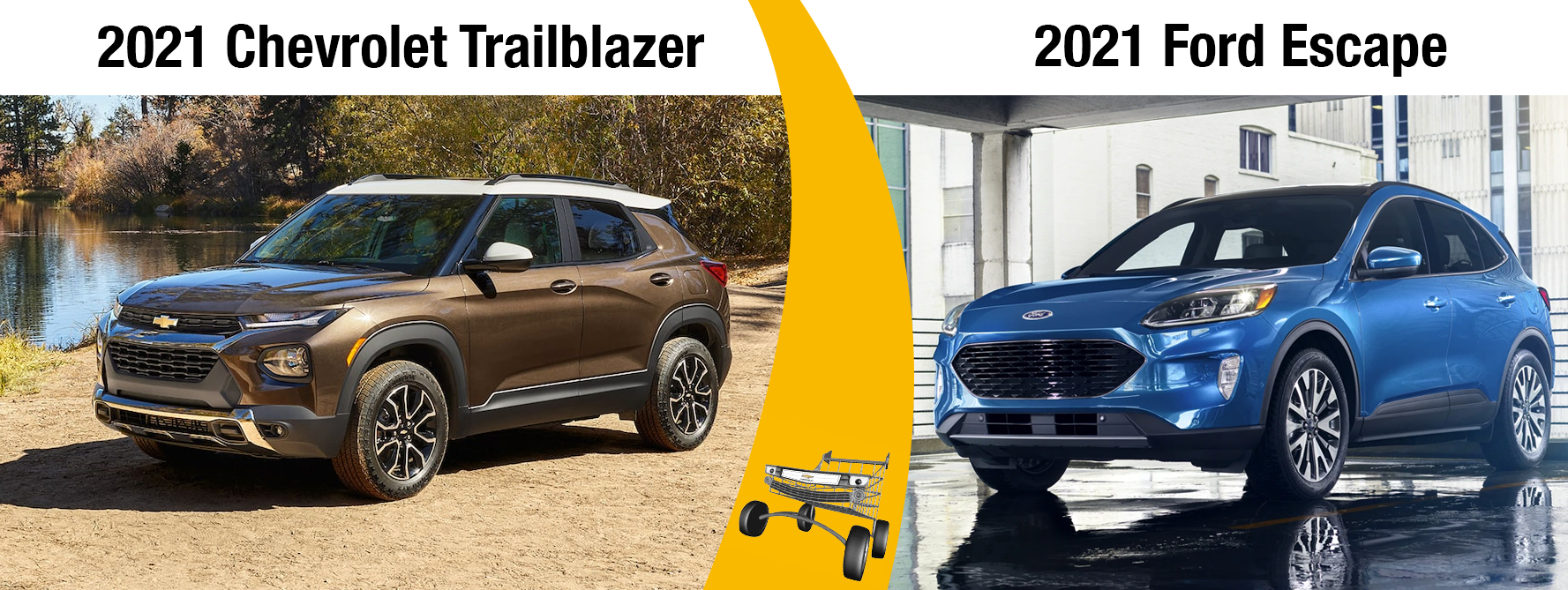 2021 Chevrolet Trailblazer Vs. 2021 Ford Escape