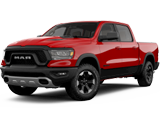 Ram 1500 Red Vehicle Model