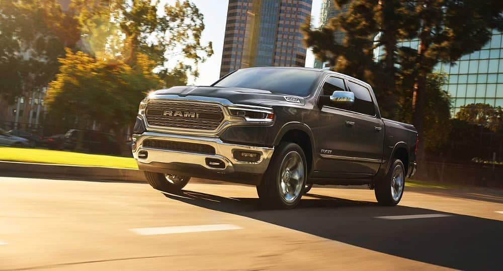 2019 Ram 1500 city driving