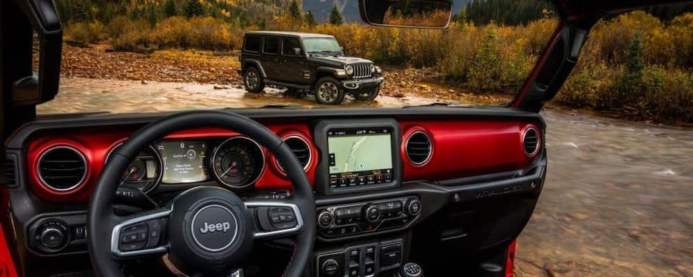2018 Jeep Wrangler Interior View Red