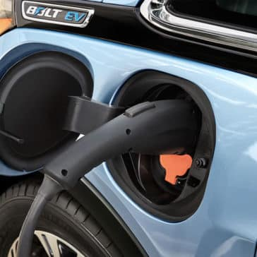 Chevrolet Bolt charging