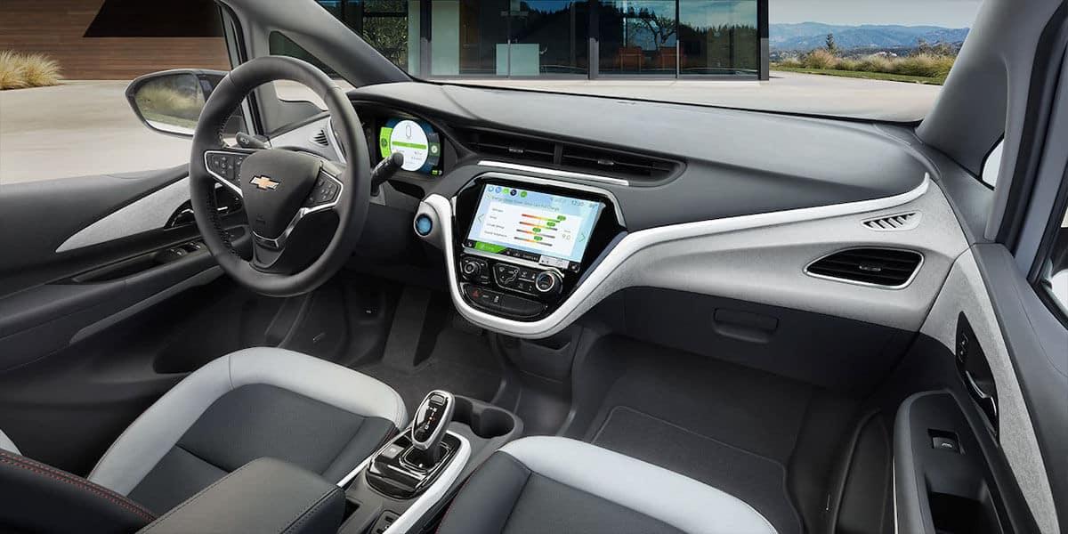 Chevrolet Bolt dashboard