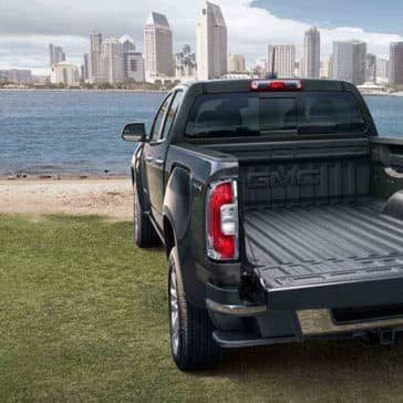 2018 GMC Canyon truck bed