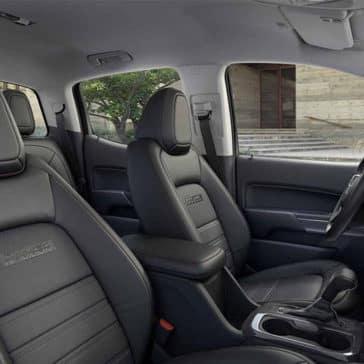 2018 GMC Canyon interior seating