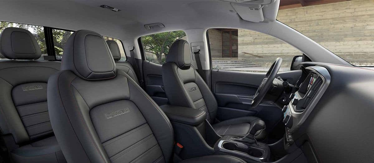 2018 GMC Canyon Interior Seating
