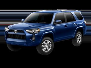 2018 Blue Toyota 4Runner