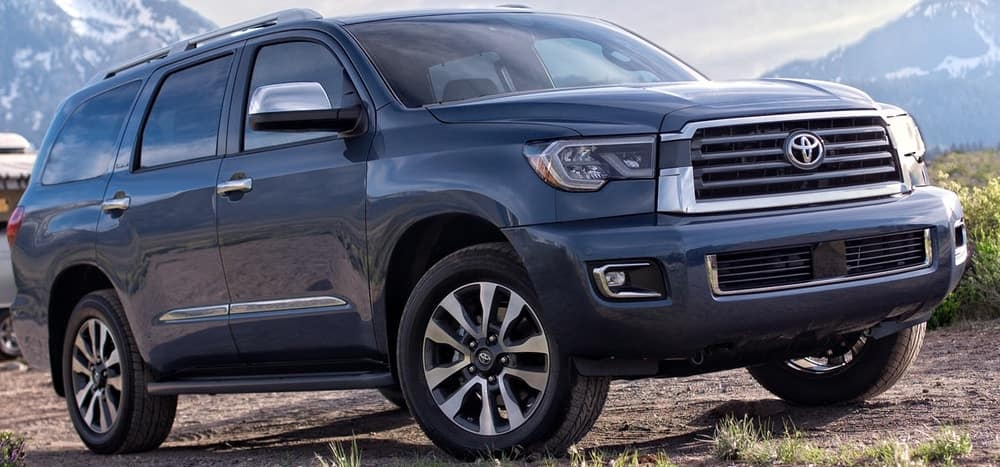 2019 Toyota Sequoia Cargo Space Clint Newell Toyota