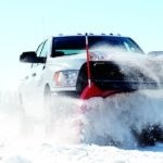 Ram Truck in Winter