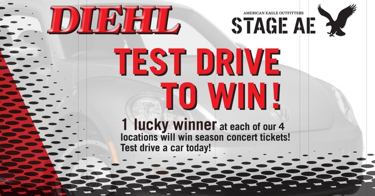 Test Drive Any Car at Diehl Chrysler Jeep Dodge and Enter to
