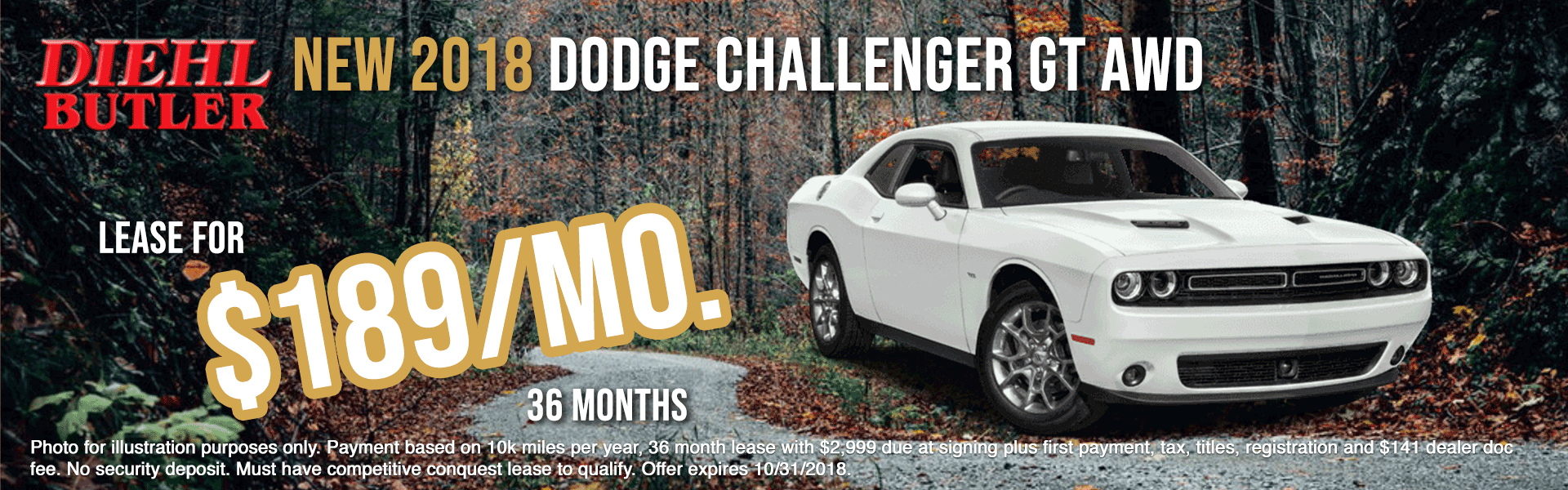 diehl of butler new vehicle specials jeep specials ram specials dodge specials Chrysler specials new specials cdjr specials diehl auto diehl specials butler pa 16001 _D180705-2018-CHALLENGER-GT-AWD---OCT-BIG
