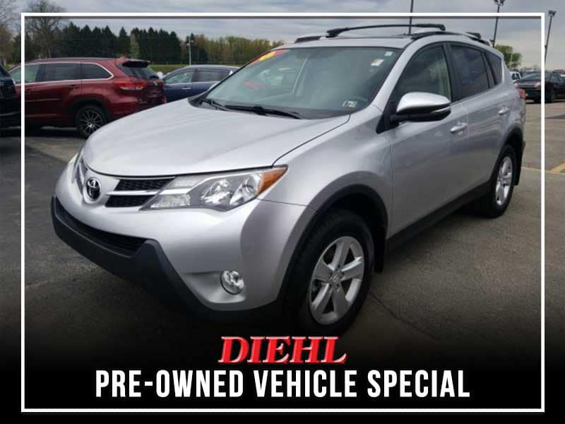 PRE-OWNED 2013 TOYOTA RAV4 XLE AWD