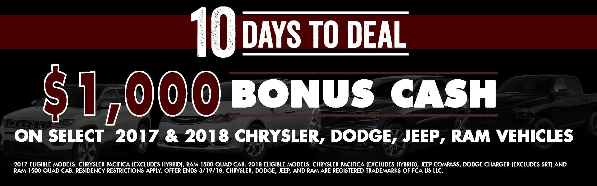 10 days to deal chrysler dodge jeep ram diehl of robinson serving robinson township, mckees rocks, north side, and pittsburgh