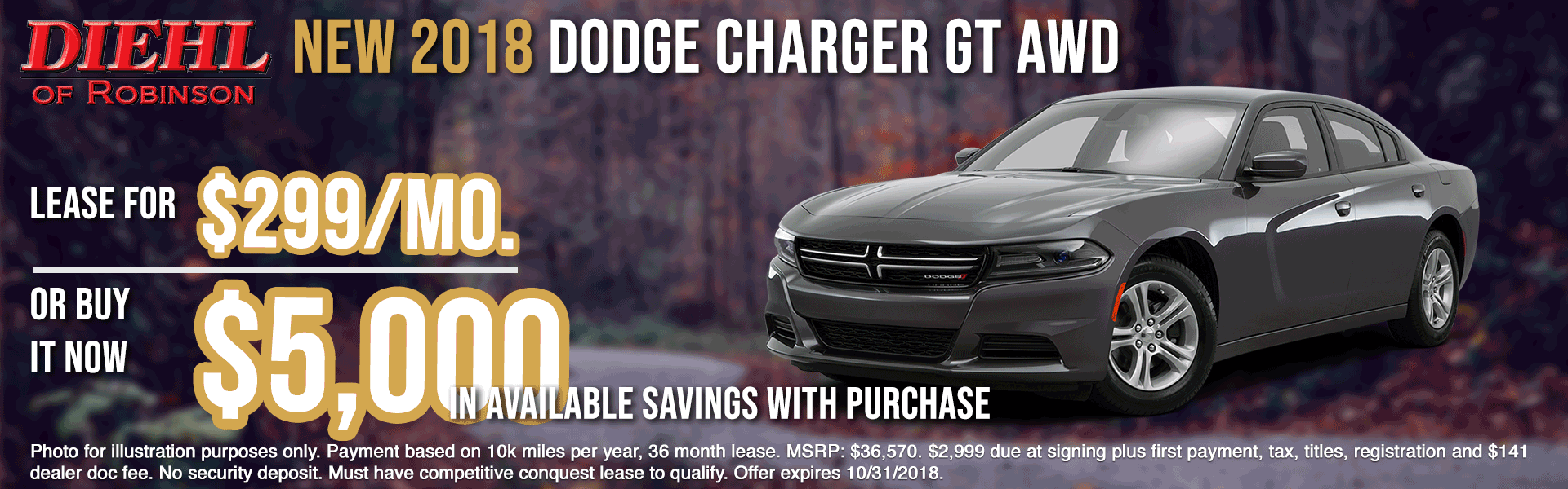 18D0105-2018-DODGE-CHARGER-GT-AWD-OCT Robinson new vehicle specials diehl of Robinsonn new vehicle specials jeep specials ram specials dodge specials Chrysler specials new specials cdjr specials diehl auto diehl specials Robinson specials Robinson township