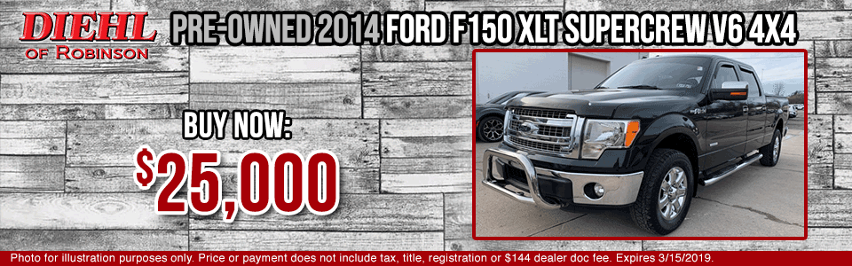 P0462A-pre-owned-2014-ford-f150 pre-owned vehicle specials used specials used vehicle specials diehl of robinson diehl automotive diehl auto