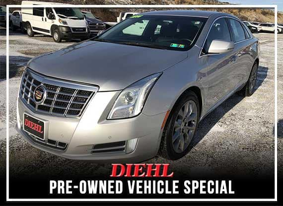 PRE-OWNED 2014 CADILLAC XTS LUXURY AWD