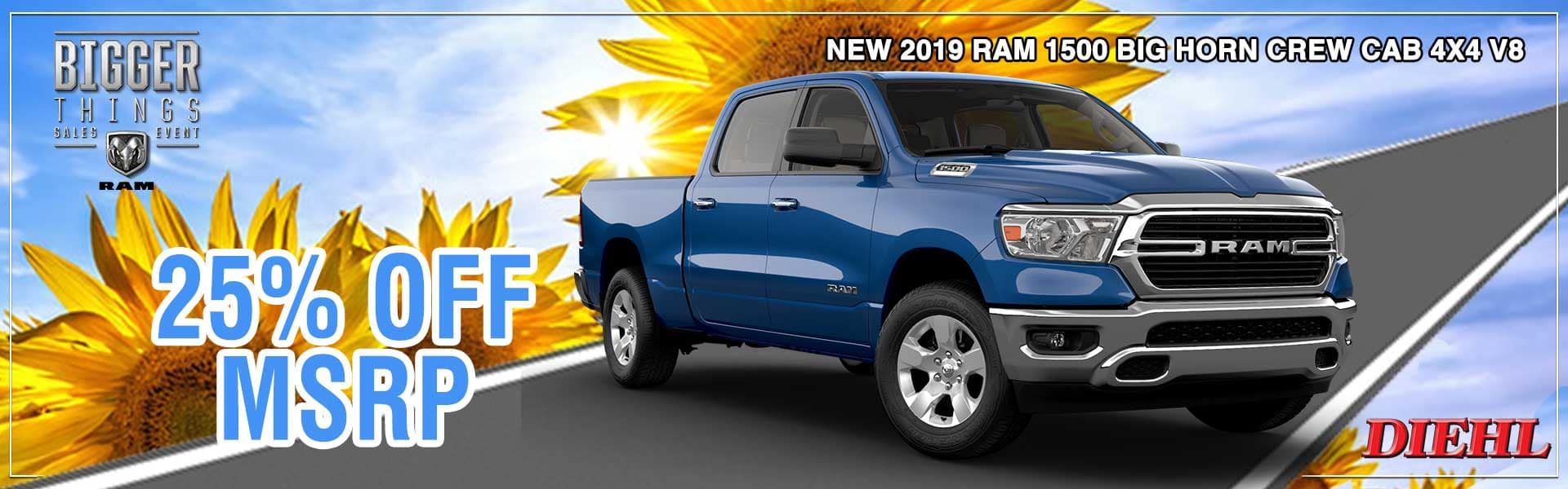 Diehl of Robinson Chrysler Jeep Dodge Ram. Robinson Township, PA 15136. New and used sales, service for all makes and models, parts, accessories, Mopar, collision center body shop. RAM 1500 BIG HORN