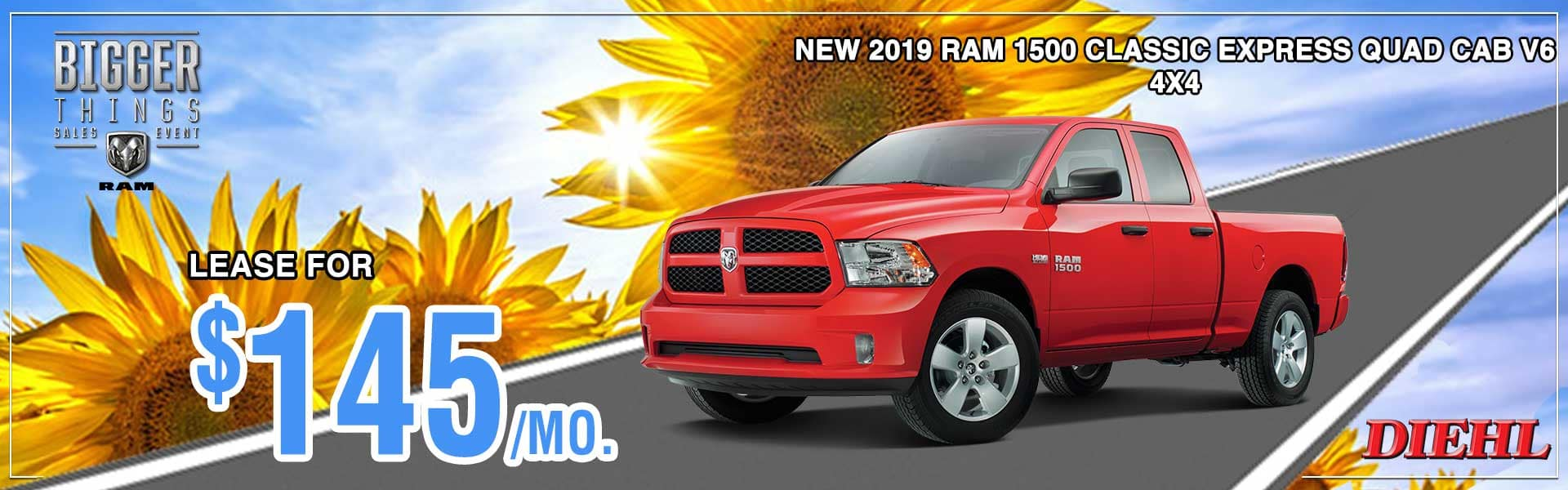 Diehl of Robinson Chrysler Jeep Dodge Ram. Robinson Township, PA 15136. New and used sales, service for all makes and models, parts, accessories, Mopar, collision center body shop. 2019 RAM 1500 CLASSIC
