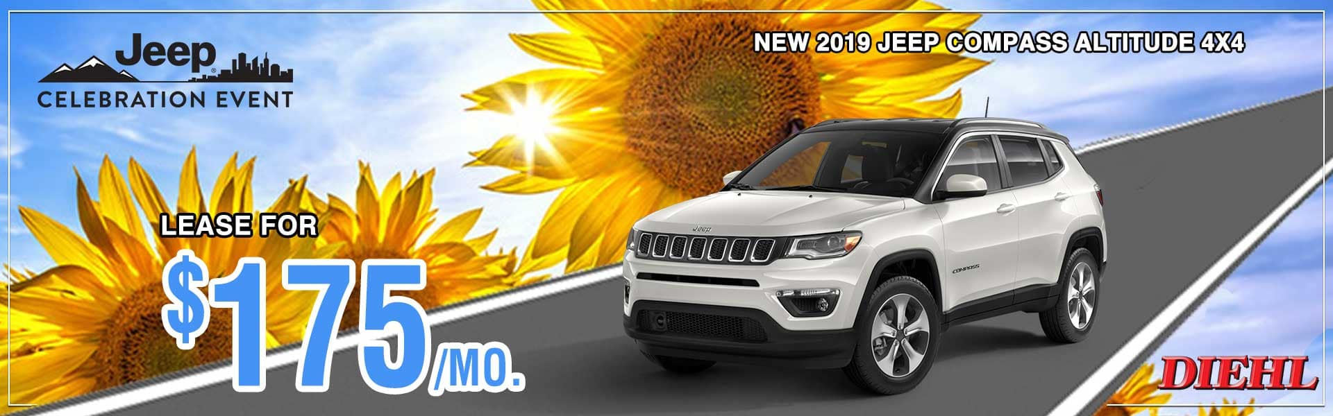 Diehl of Robinson Chrysler Jeep Dodge Ram. Robinson Township, PA 15136. New and used sales, service for all makes and models, parts, accessories, Mopar, collision center body shop. 2019 JEEP COMPASS ALTITUDE