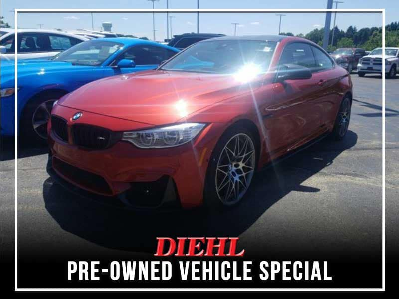 PRE-OWNED 2017 BMW M4 BASE RWD 2D COUPE