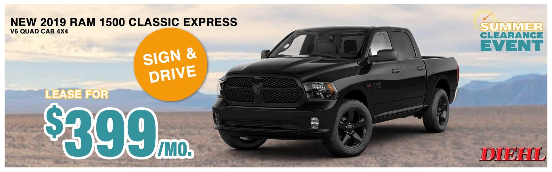 Diehl auto diehl Robinson Chrysler dodge jeep ram lease special financing summer clearance event summer of jeep new vehicle special new special