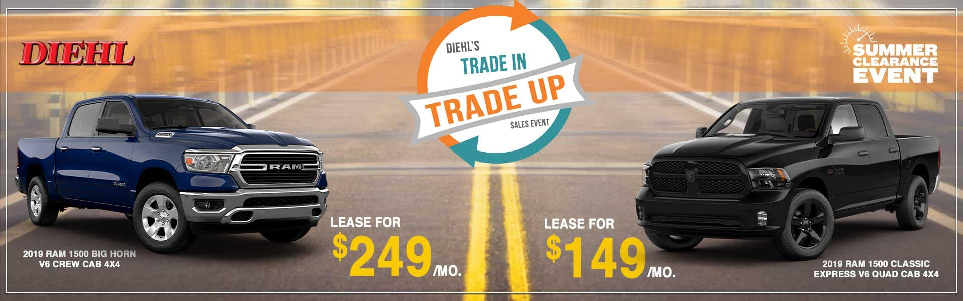 Diehl Automotive Trade In Trade Up Sales Event Summer of Jeep jeep grand cherokee jeep compass lease specials labor day sales event ROBINSON summer clearance event