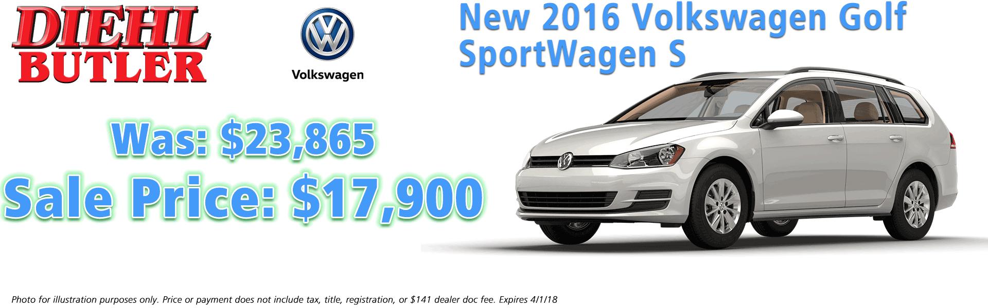 Diehl Volkswagen Of Butler Volkswagen Dealer In Butler Pa