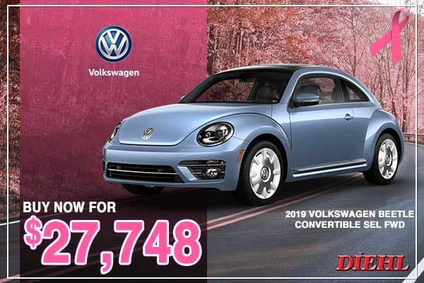 New 2019 Volkswagen Beetle Convertible 2.0T Final Edition SEL FWD 2D Convertible