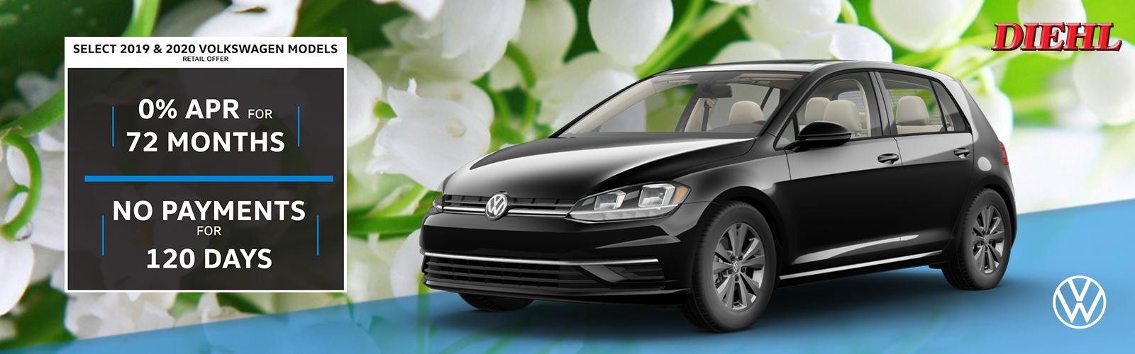 Pennsylvania volkswagen dealership butler pa diehl auto diehl Volkswagen butler retail special Volkswagen promise finance deal new vehicle special coronavirus deal COVID-19 special