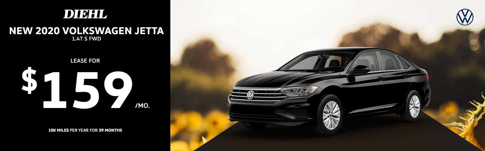 2020 Jetta Lease summer clearance event summer sales event fourth of july sales event diehl automotive Volkswagen lease special diehl of butler pa vw