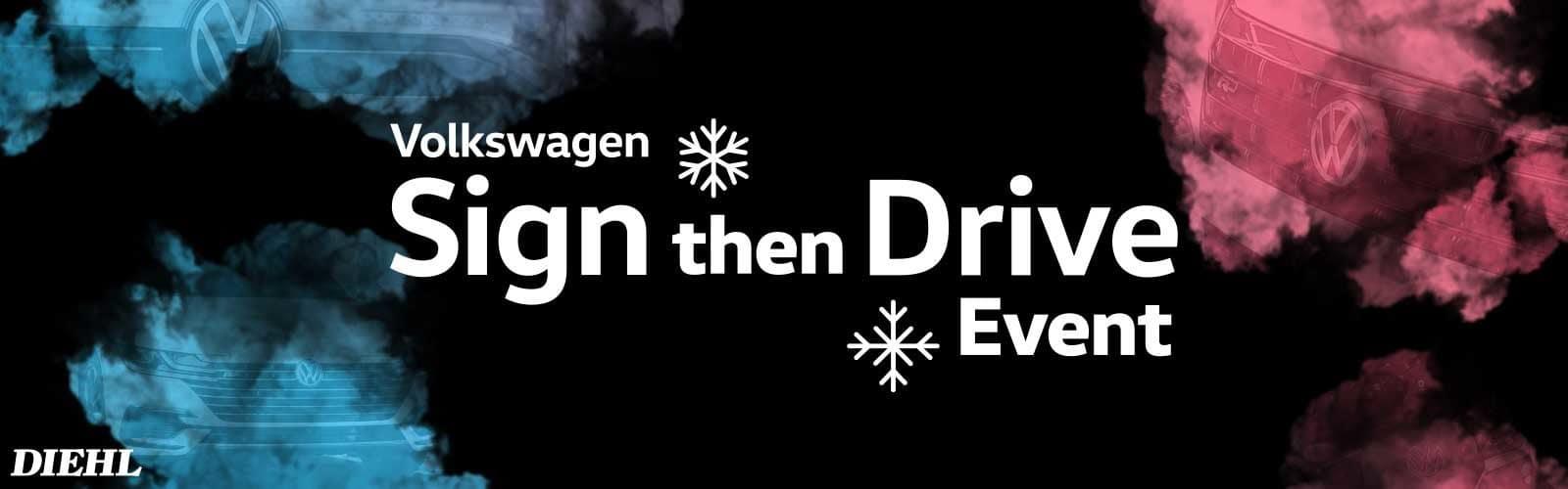 diehl volkswagen butler pa vw sign then drive event lease special diehl automotive
