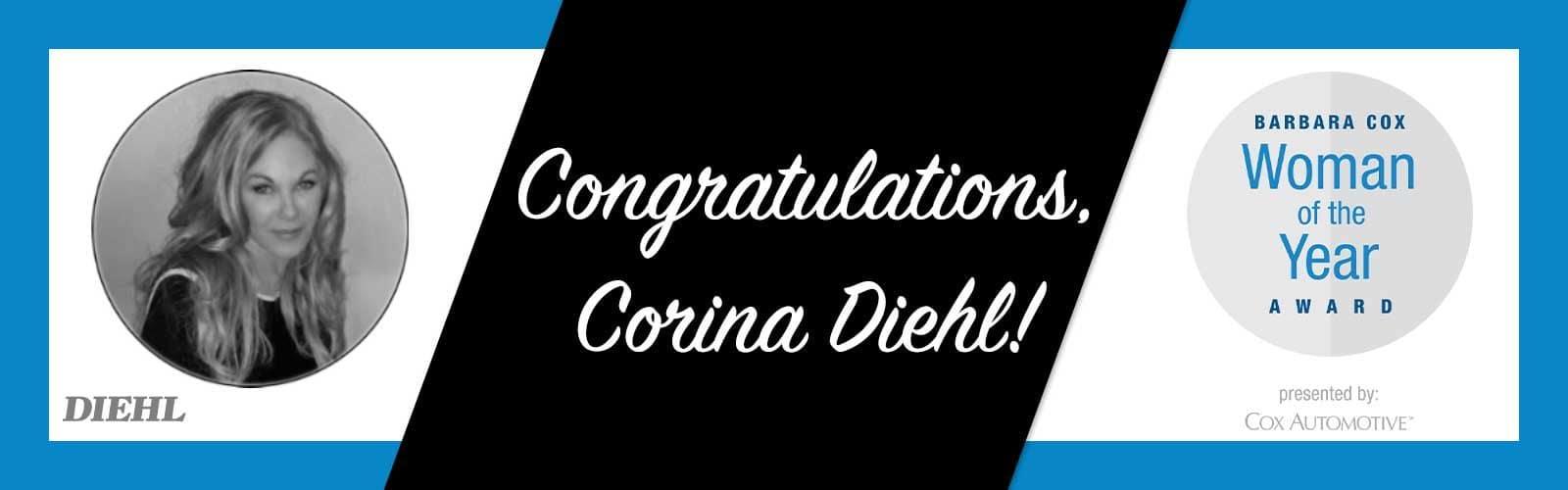 cox automotive corina diehl barbara cox woman of the year award 2021 diehl automotive group