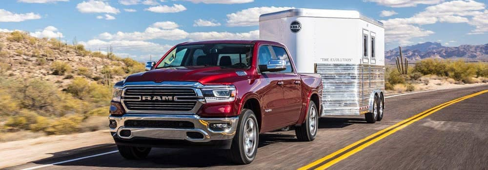 2019 Ram 1500 Towing a Trailer