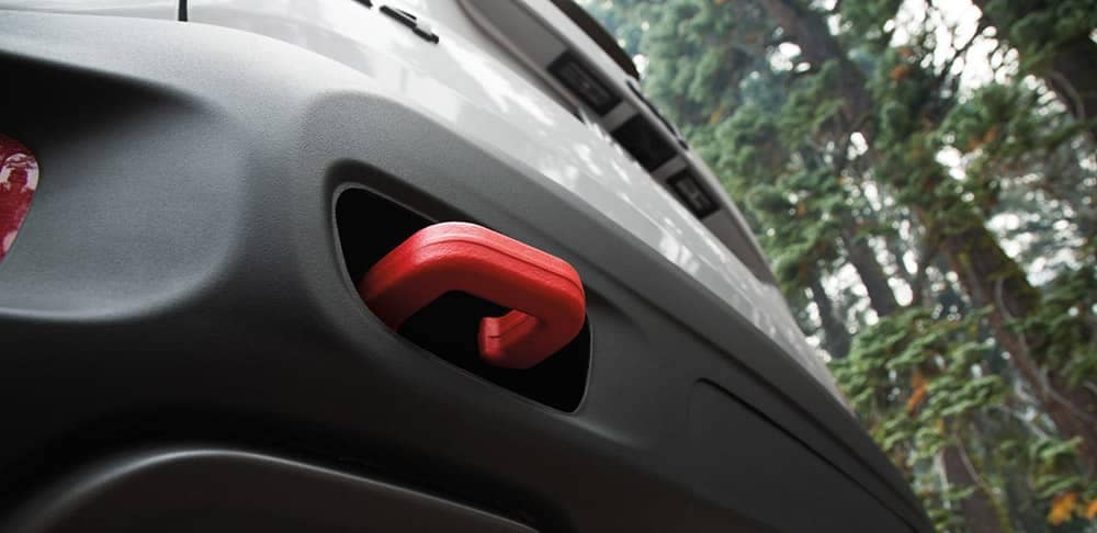 2018 Jeep Renegade Tow Hooks